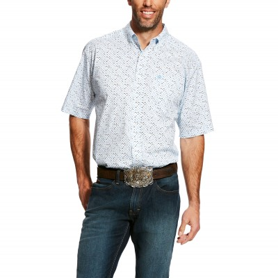 Ariat Mens Eckleman Stretch Print Shirt