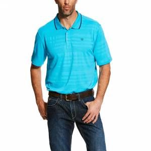 Ariat Mens Edge Tek Polo