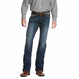 Ariat Mens M7 Rocker Straight Leg Caden Denali Jeans