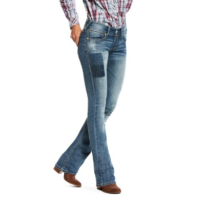 Ariat Ladies R.E.A.L Low Rise Boot Cut Jeans