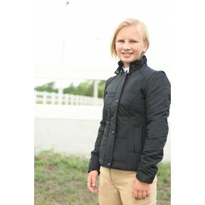 KAKI Puffer Jacket with Zip sleeves