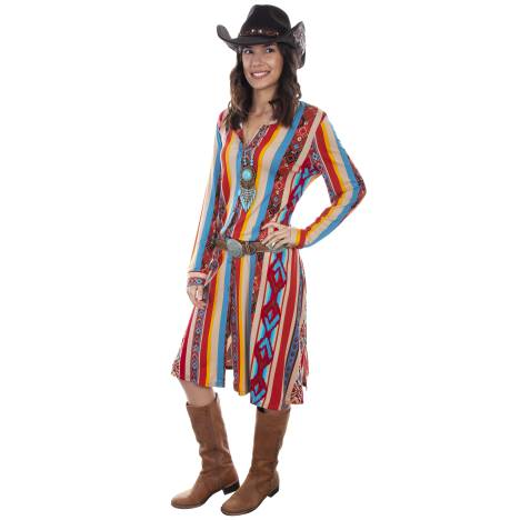 Scully Leather Serape Duster