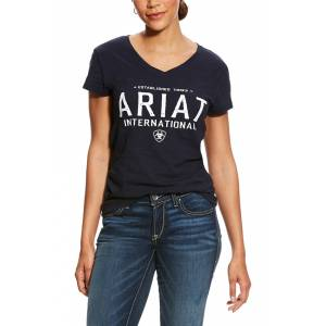 Ariat Ladies Block Logo Tee