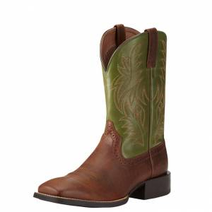 Ariat Mens Sport Wide Square Toe Western Boots
