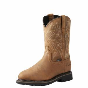 Ariat Mens Everett Waterproof Steel Toe Work Boots