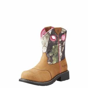 Ariat Ladies Fatbaby Cowgirl Steel Toe Work Boots