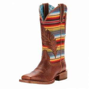 Ariat Ladies Circuit Feather Western Boots