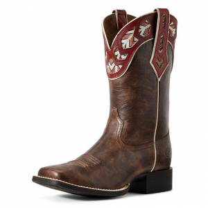 Ariat Ladies Round Up Monroe Western Boots