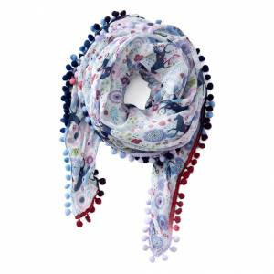 Ariat Ladies Pony In Flora Scarf
