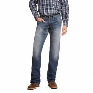Ariat Mens M5 Slim TekStretch Bookie Stackable Straight Leg Jeans