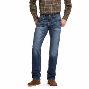 Ariat Mens M5 Slim Stretch Nebraska Stackable Straight Leg Jeans