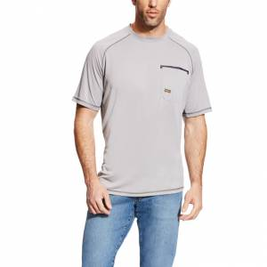 Ariat Mens Rebar Sunstopper Short Sleeve Shirt