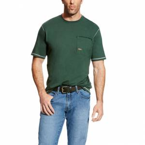 Ariat Mens Rebar Workman Short Sleeve T-Shirt
