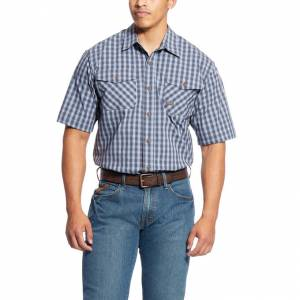 Ariat Mens Rebar Made Tough DuraStretch Work Shirt
