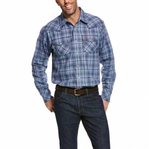 Ariat Mens FR Asphalt Work Shirt