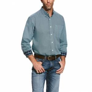 Ariat Mens Wrinkle Free Waldmiller Classic Fit Shirt