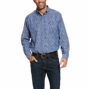 Ariat Mens Urbrick Stretch Classic Fit Shirt