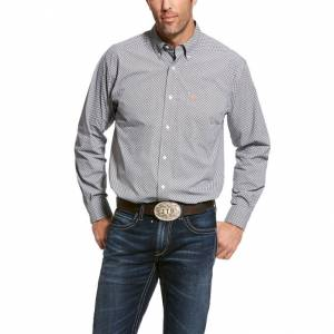Ariat Mens Urway Stretch Classic Fit Long Sleeve Shirt