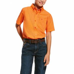 Ariat Kids Regan Classic Fit Short Sleeve Shirt