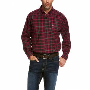 Ariat Mens Pro Series Ulmeyer Stretch Classic Fit Shirt