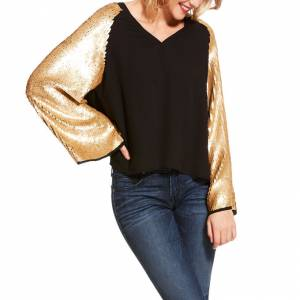 Ariat Ladies Cha-Ching 3/4 Sleeve Top