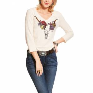Ariat Ladies Elara 3/4 Sleeve Top