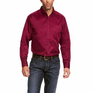 Ariat Mens Solid Twill Classic Long Sleeve Shirt