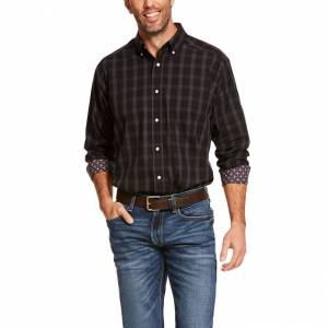 Ariat Mens Wrinkle Free Clayborne Classic Fit Long Sleeve Shirt