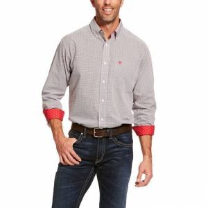 Ariat Mens Wrinkle Free Cleary Classic Fit Shirt