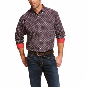 Ariat Mens Wrinkle Free Cleaves Classic Fit Shirt