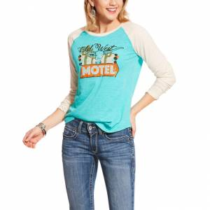 Ariat Ladies Old West 3/4 Sleeve Raglan Top