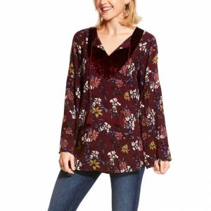 Ariat Ladies Roulette Long Sleeve Top