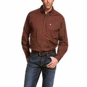 Ariat Mens Adkison Long Sleeve Stretch Shirt