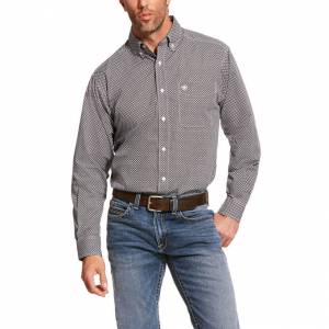Ariat Mens Agazzi Classic Fit Long Sleeve Shirt