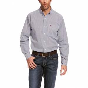 Ariat Mens Airington Stretch Classic Fit Long Sleeve Shirt
