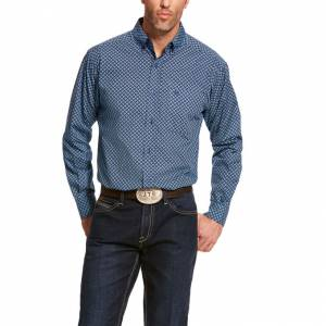 Ariat Mens Akimoto Classic Fit Long Sleeve Shirt