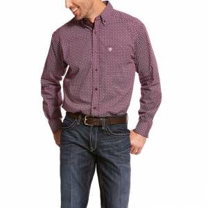 Ariat Mens Alistar Stretch Classic Fit Long Sleeve Shirt