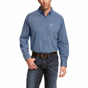Ariat Mens Balkman Stretch Classic Fit Long Sleeve Shirt