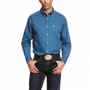 Ariat Mens Balter Classic Fit Long Sleeve Shirt