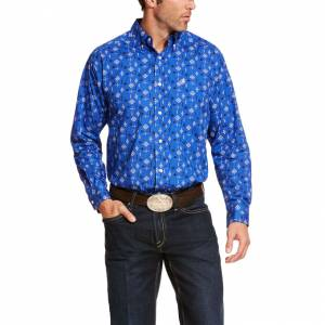 Ariat Mens Bairstow Classic Fit Long Sleeve Shirt