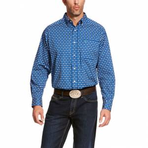 Ariat Mens Bruno Stretch Classic Fit Long Sleeve Shirt