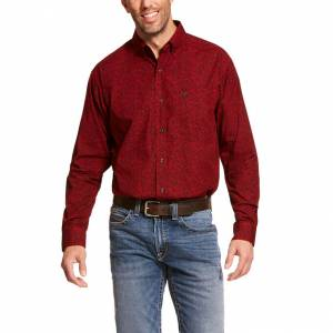 Ariat Mens Dalanzo Classic Fit Long Sleeve Shirt