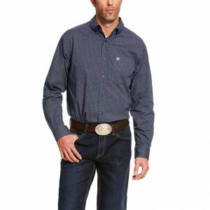 Ariat Mens Damian Stretch Classic Fit Long Sleeve Shirt