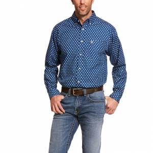 Ariat Mens Damon Classic Fit Long Sleeve Shirt