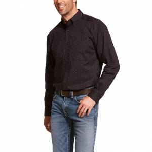 Ariat Mens Dasantos Stretch Long Sleeve Shirt