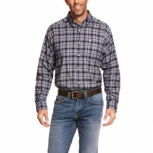Ariat Mens Pro Series Abney Stretch Classic Fit Long Sleeve Shirt