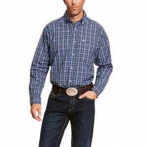 Ariat Mens Pro Series Abrell Classic Fit Long Sleeve Shirt