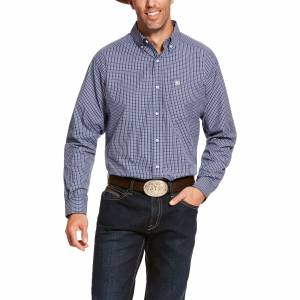 Ariat Mens Pro Series Ackelson Classic Fit Long Sleeve Shirt