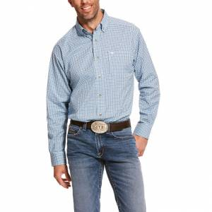 Ariat Mens Pro Series Adamsen Stretch Classic Fit Long Sleeve Shirt