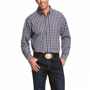 Ariat Mens Pro Series Adderley Classic Fit Long Sleeve Shirt